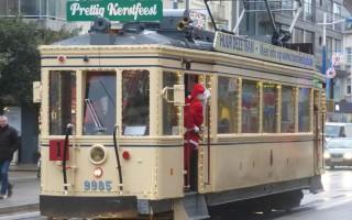 nostalgie tram uit de oude doos