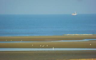 zicht op de noordzee