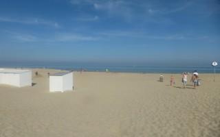 zeedijk en promenade te Koksijde-bad