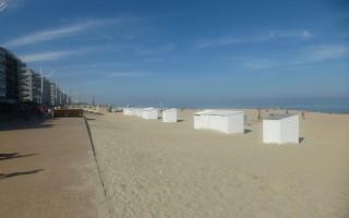 zeedijk & strand in koksijde